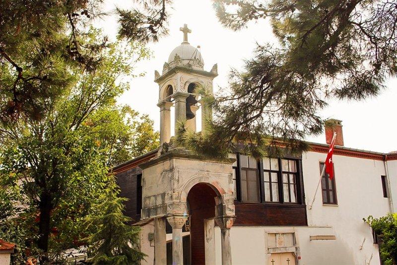 Один день на Бююкада, Принцевы острова, Стамбул | Церковь Святого Георгия