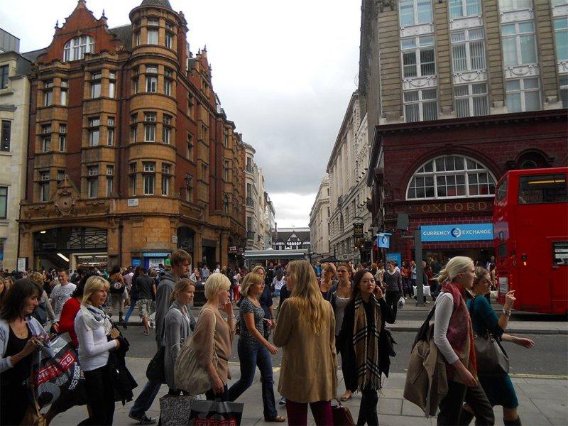 Бесплатные достопримечательности Лондона | Oxford street