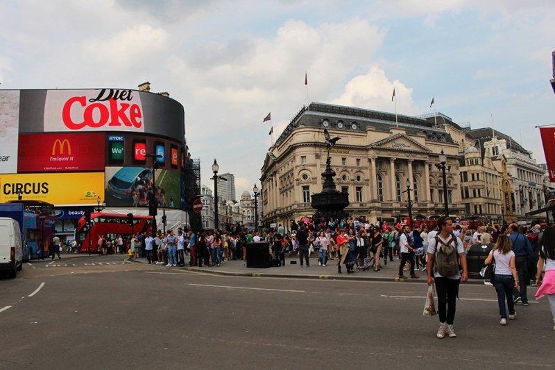 Бесплатные достопримечательности Лондона | Piccadilly