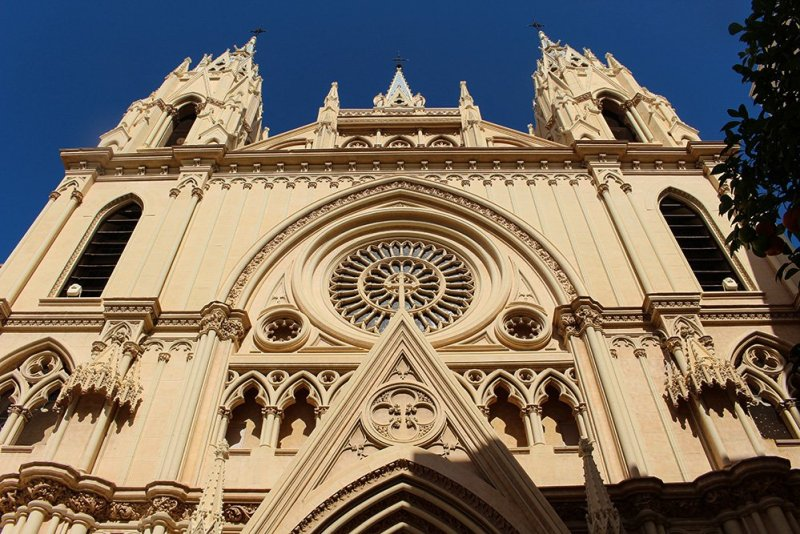 3 Weeks of Solo Travel in Spain: What to do in Malaga | Iglesia del Sagrado Corazon
