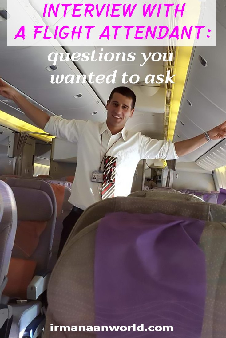Interview with a flight attendant | Questions You Wanted to Ask a Flight Attendant