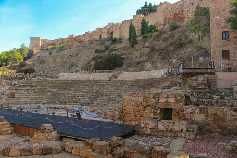 3 Weeks of Solo Travel in Spain: What to do in Malaga | The Roman Theater