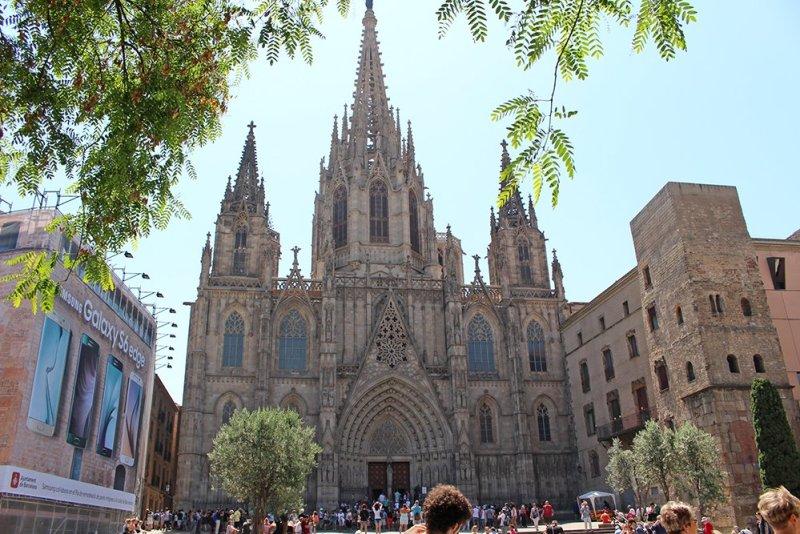 Что посмотреть в Барселоне в первый раз | Кафедральный собор Барселоны