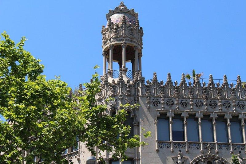 Что посмотреть в Барселоне в первый раз   Пасео де Грасия
