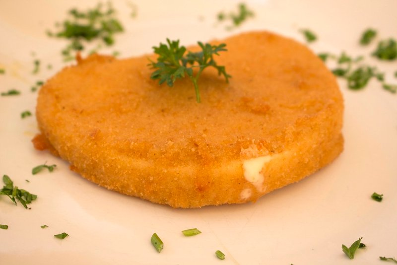 Traditional Czech food to eat in Prague   Fried cheese