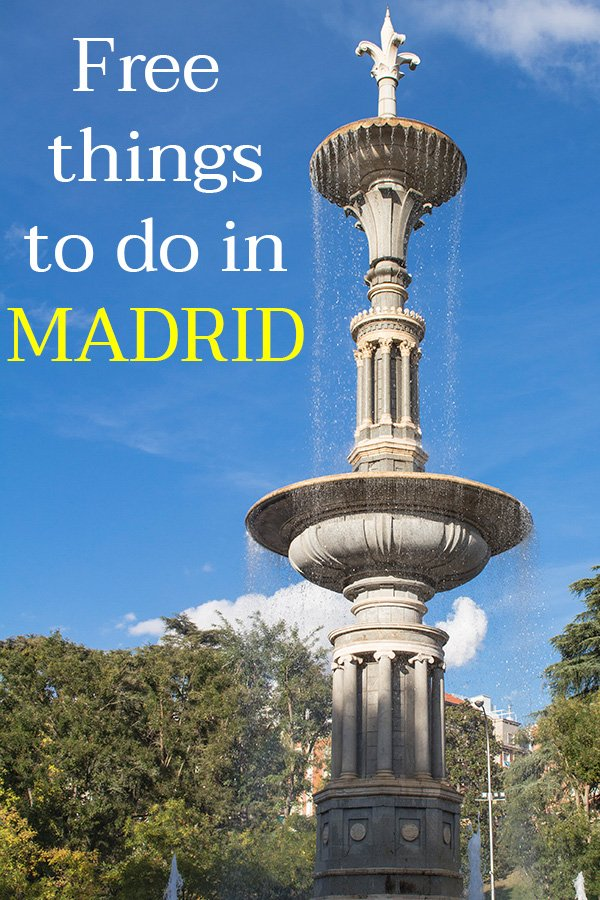 Free things to do in Madrid, Spain | What to do for free in Madrid, Spain | What to see for free in Madrid, Spain | Places to visit for free in Madrid, Spain | Things to do for free in Madrid, Spain | Places to see for free in Madrid, Spain | Free tourist attractions in Madrid, Spain