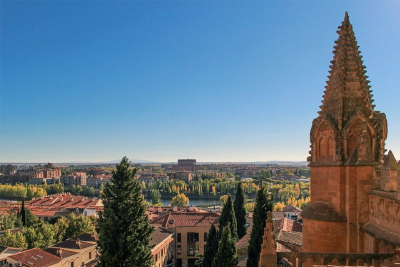 Things to do in Salamanca, Spain   View from Ieronimus
