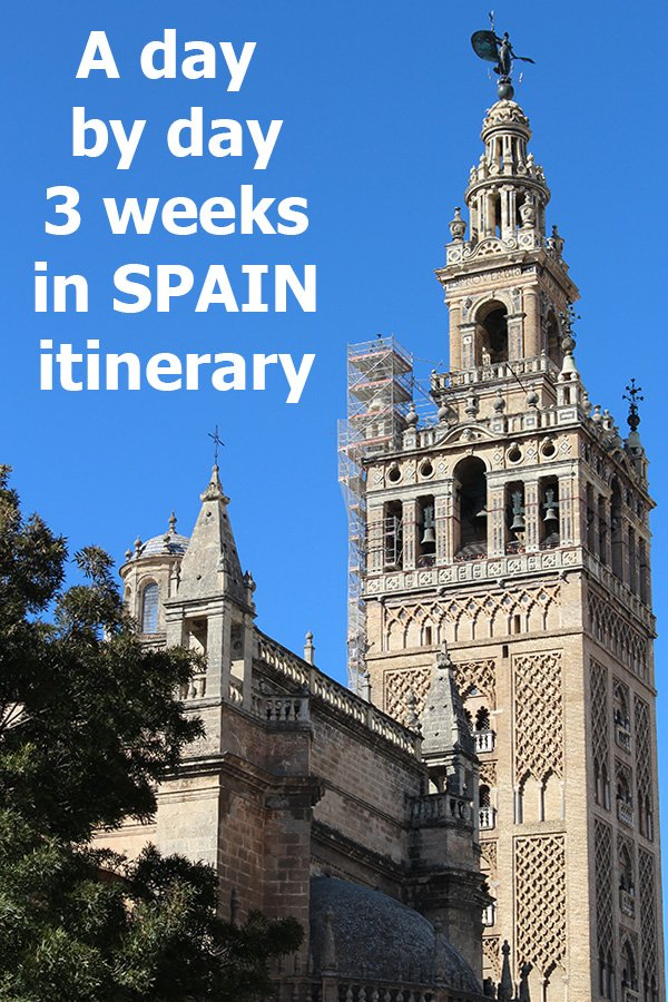 3 weeks in Spain itinerary | 3 weeks Spain vacation | Cities to visit during 3 weeks in Spain itinerary | Places to visit during 3 weeks in Spain itinerary | What to see during 3 weeks in Spain itinerary