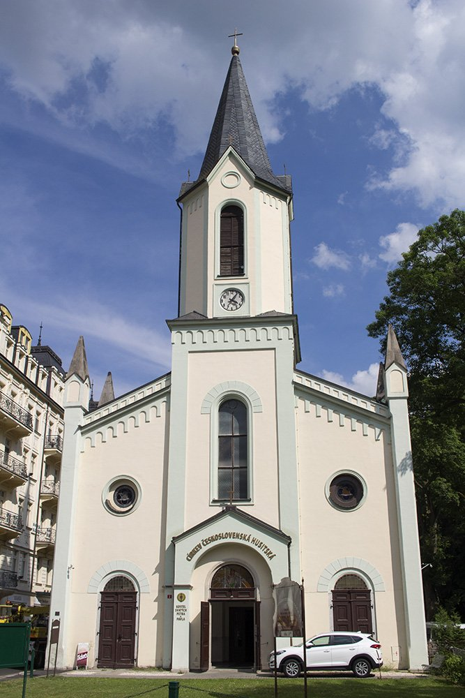 A day trip from Prague: what to do in Karlovy Vary | Church of St Peter and Paul