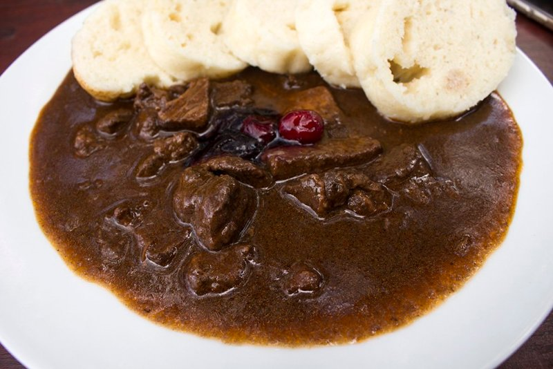 A day trip from Prague: what to do in Karlovy Vary | Deer goulash in Jeleni Skok