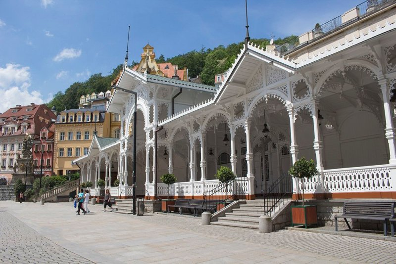 A day trip from Prague: what to do in Karlovy Vary | Market Colonnade
