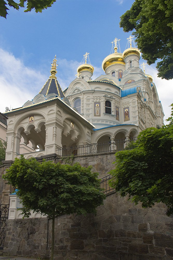 A day trip from Prague: what to do in Karlovy Vary   Orthodox Church of St Peter and Paul