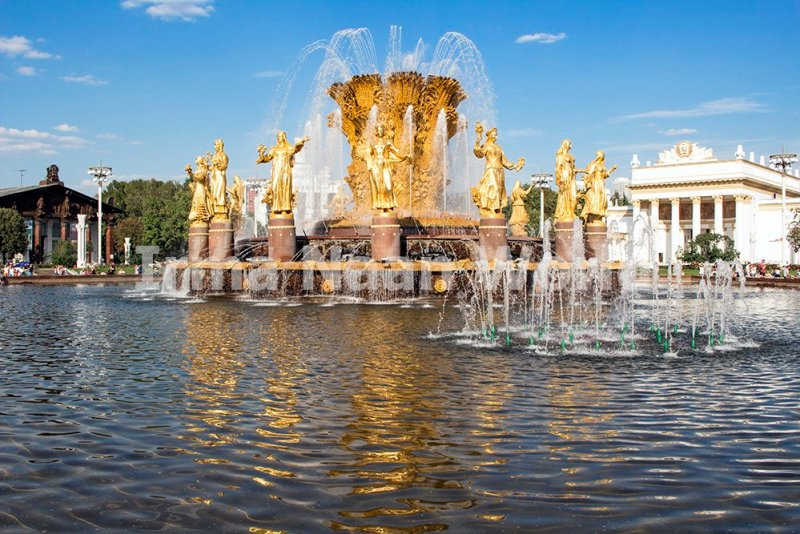 Moscow pictures: stunning photos of Moscow | Fountain in VDNKh