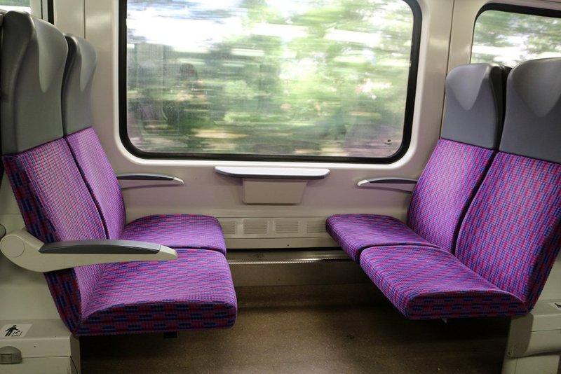 From Prague to Karlstejn Castle, Czech Republic | In the train to Karlstejn