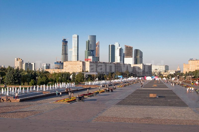 Moscow pictures: stunning photos of Moscow   View from Poklonnaya Hill in Moscow