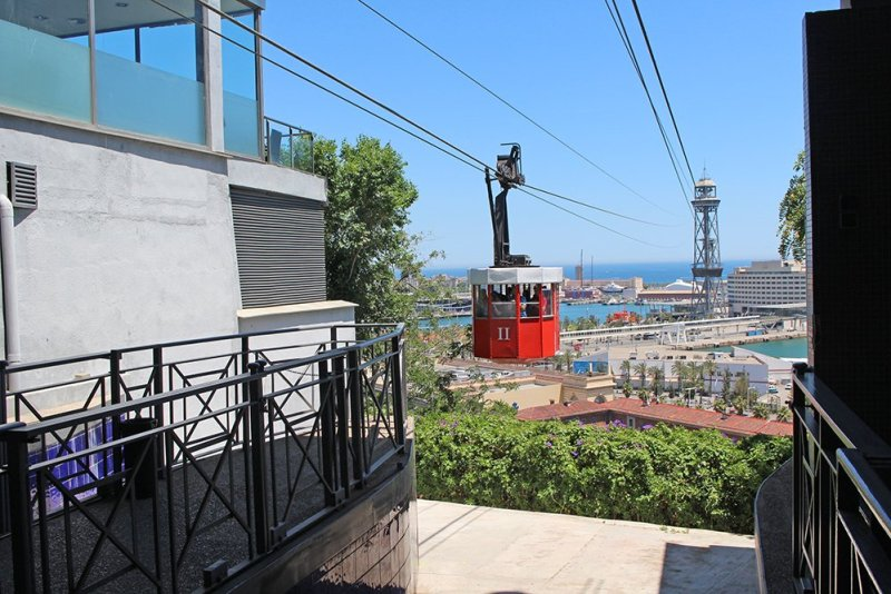 What to See in Barcelona in One Day | Cabin of Aeri del Port