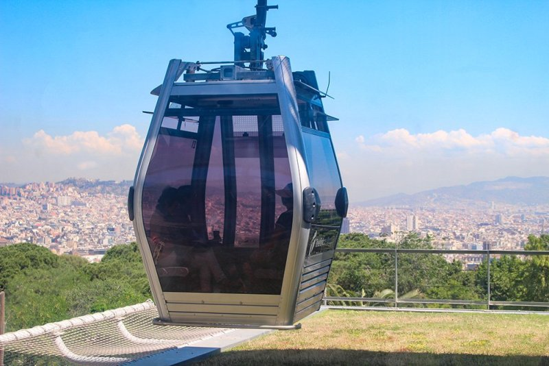 What to See in Barcelona in One Day | Cabin of Teleferico