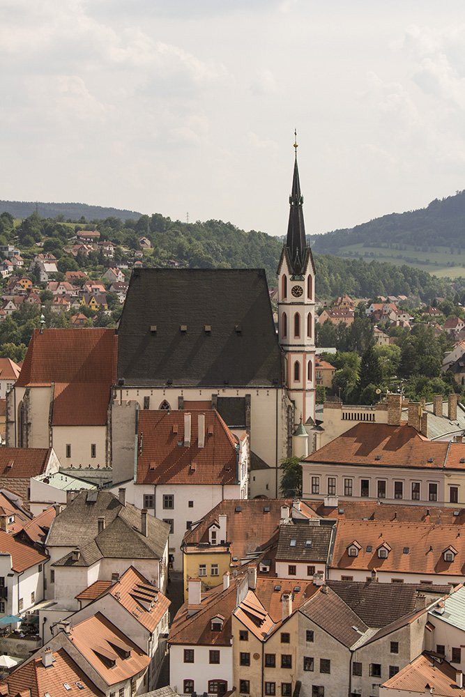 A day trip from Prague to Cesky Krumlov Castle | St Vitus Church