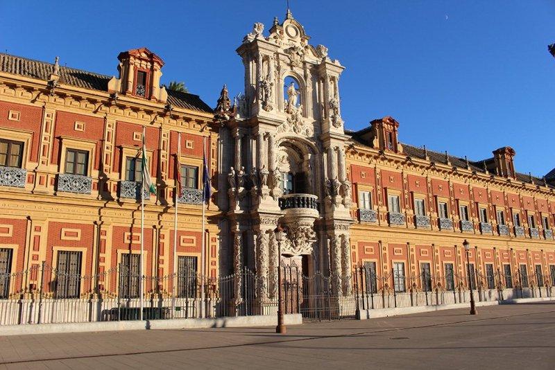 Главные и самые красивые достопримечательности Севильи | Дворец Сан Тельмо