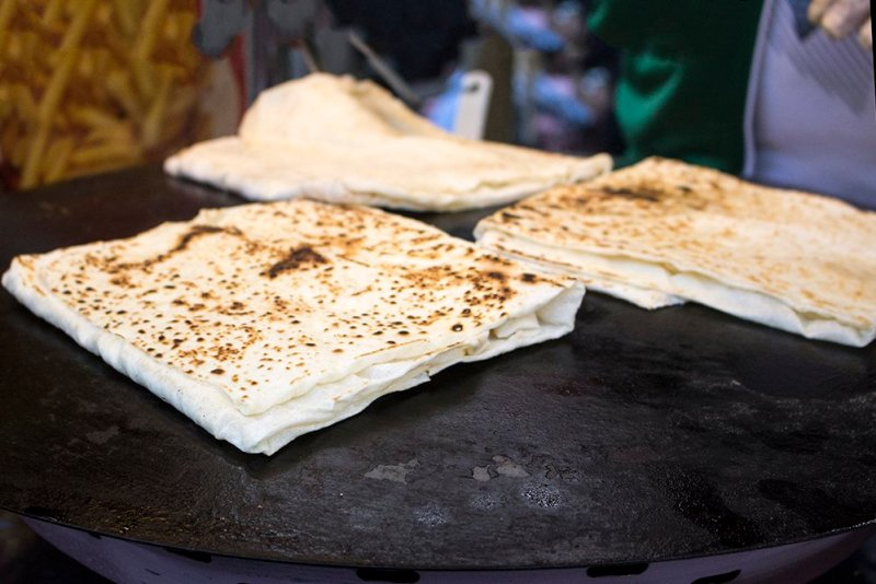Traditional Turkish food: what to eat in Istanbul   Gozleme