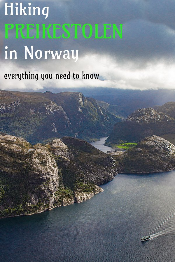 Preikestolen hike | Pulpit Rock Norway hike | Hiking the Pulpit Rock | Preikestolen, Norway