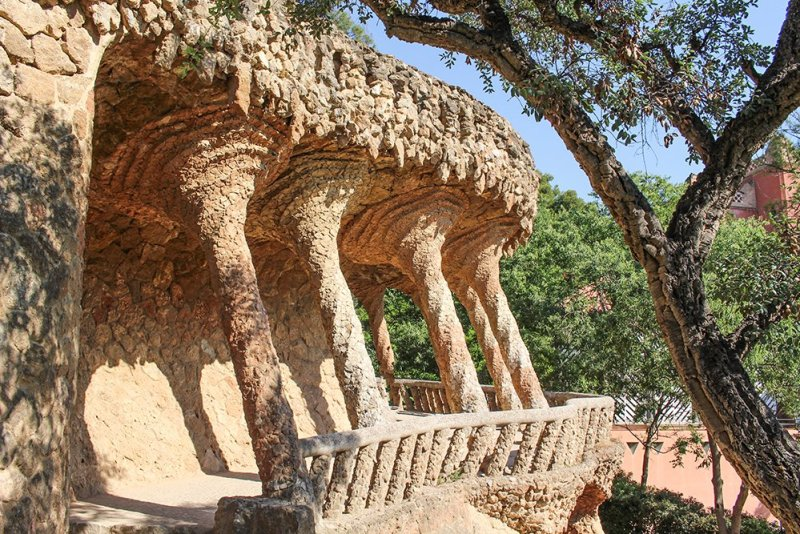 Things to do in Barcelona for free   In Guell Park