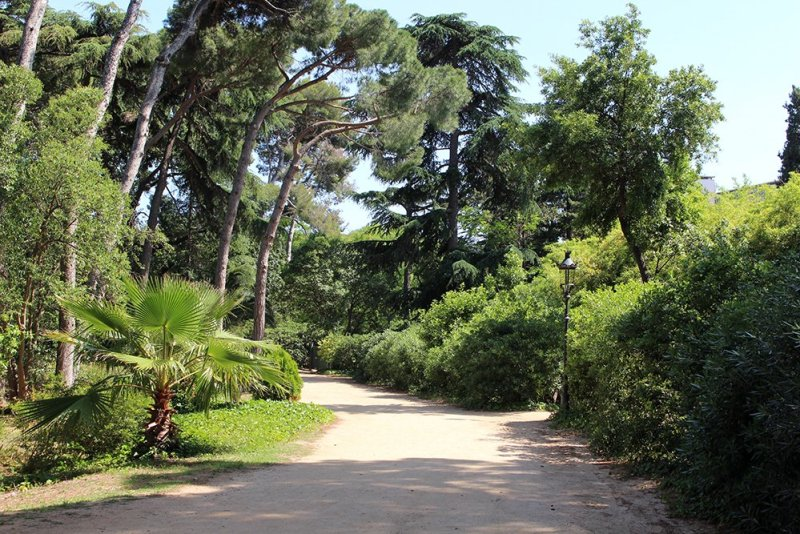 Things to do in Barcelona for free   Palau Reial Pedralbes Gardens