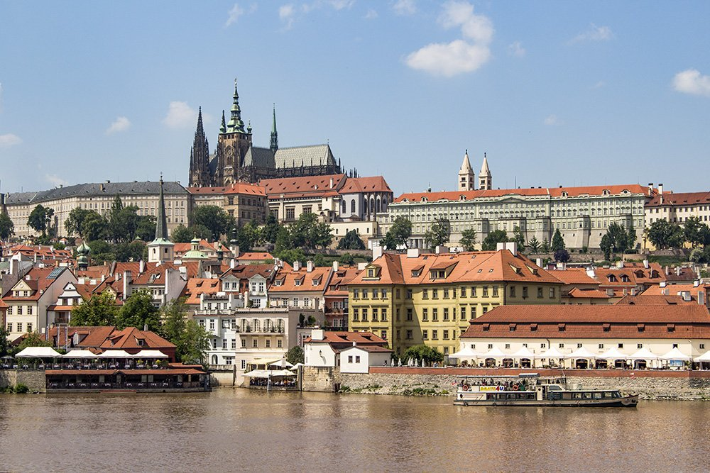 Where to find the best viewpoints in Prague