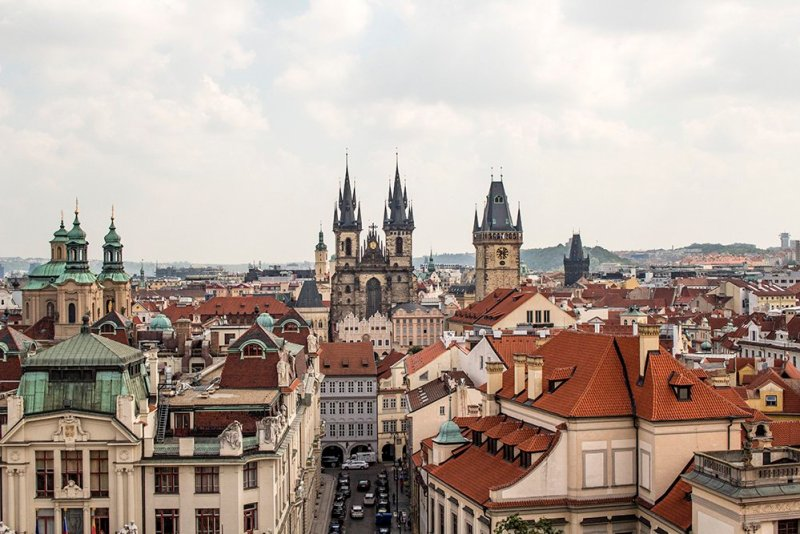 Where to find the best viewpoints in Prague | View from Klementinum Tower