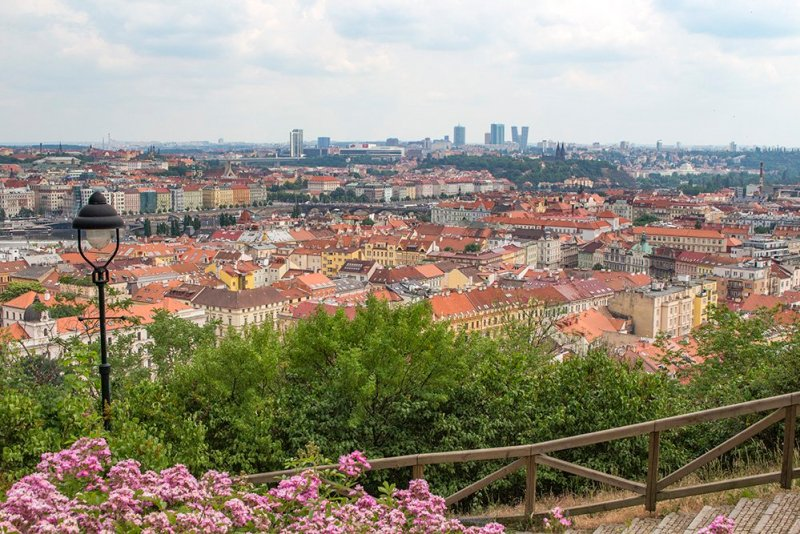 Where to find the best viewpoints in Prague | View from Petrin Hill