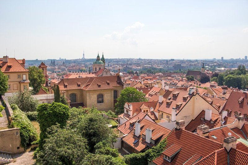 Where to find the best viewpoints in Prague | View from Prague Castle