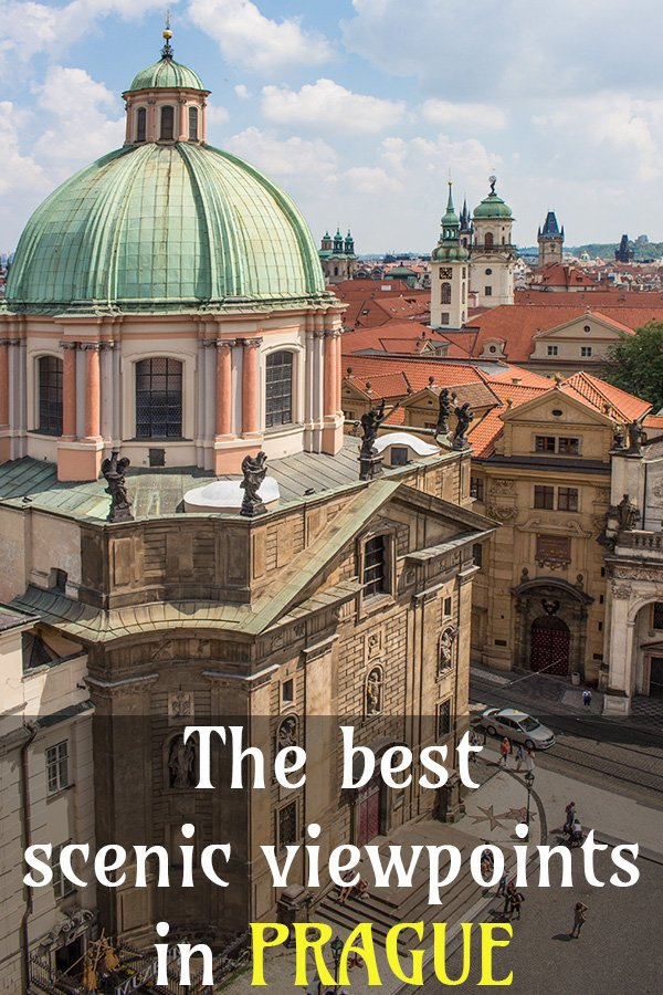 Where to find the best viewpoints in Prague | The best lookouts of Prague | The best panoramic decks of Prague | Where to get the best views of Prague from