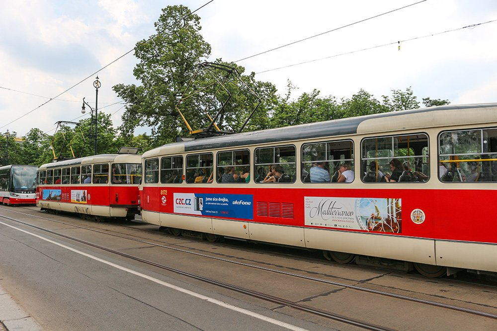 A useful guide to Prague public transport