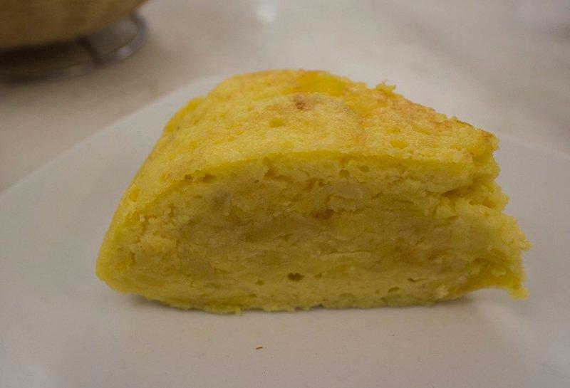 Spanish omelette - tortilla tapas