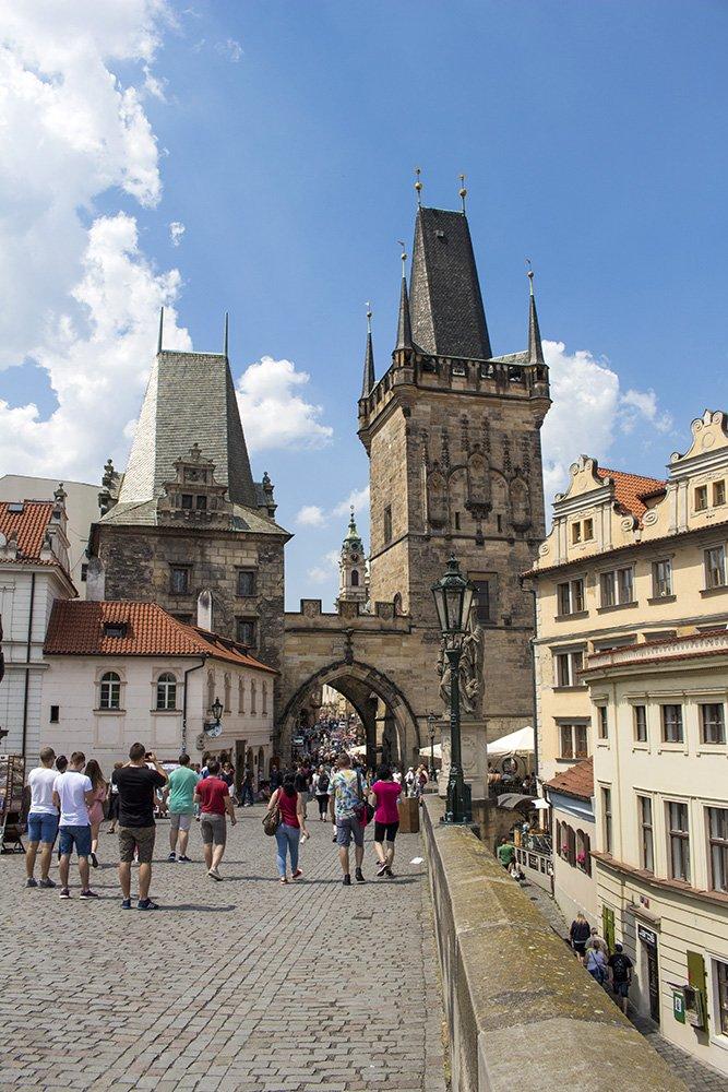 Башня Карлова моста в Праге