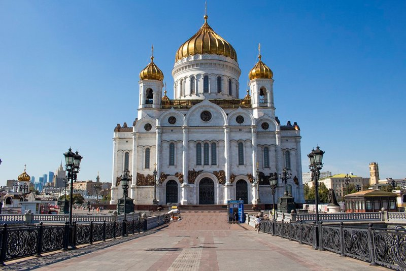 What to do in Moscow for free   The Cathedral of Christ of Saviour