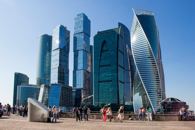 What to do in Moscow for free | The skyscrapers in Moscow-City