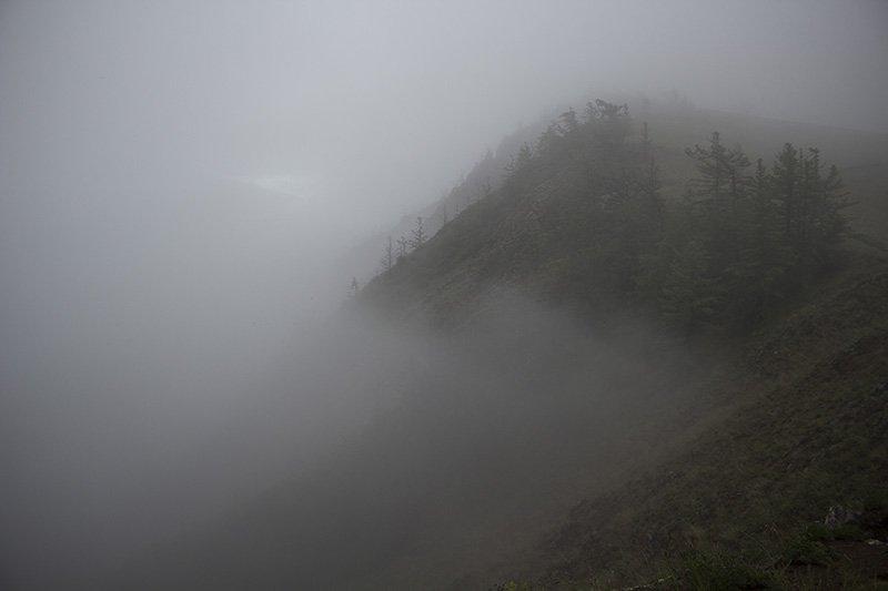 Fog on Olkhon Island