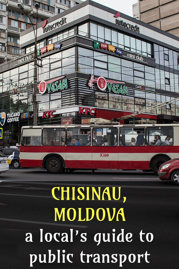 A local's guide to public transport in Chisinau | Chisinau public transport