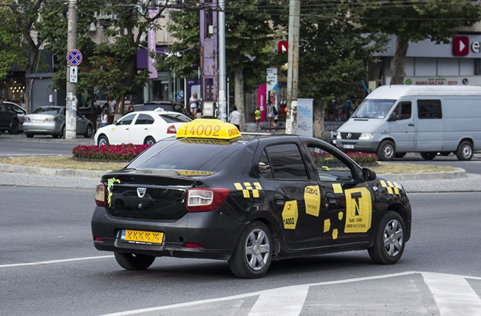 Taxis in Chisinau
