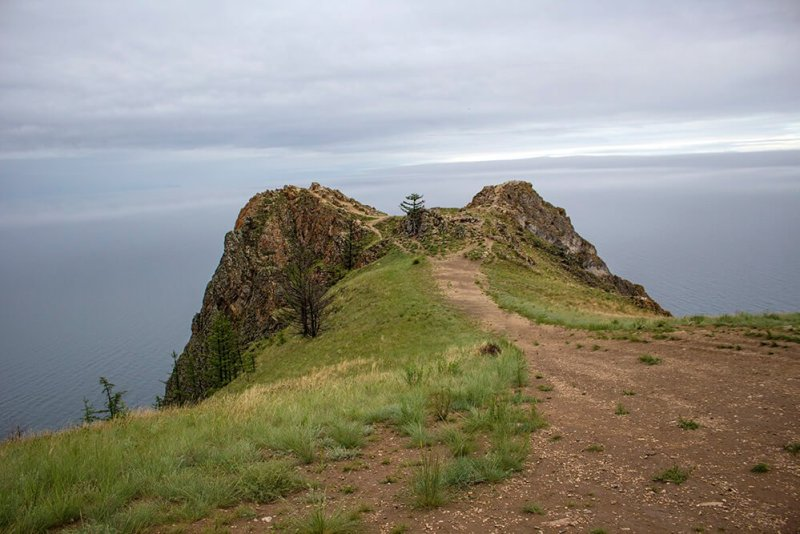 The Cape of Love in Olkhon