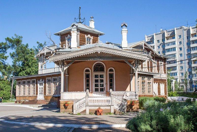 Sukachev House in Irkutsk, Russia