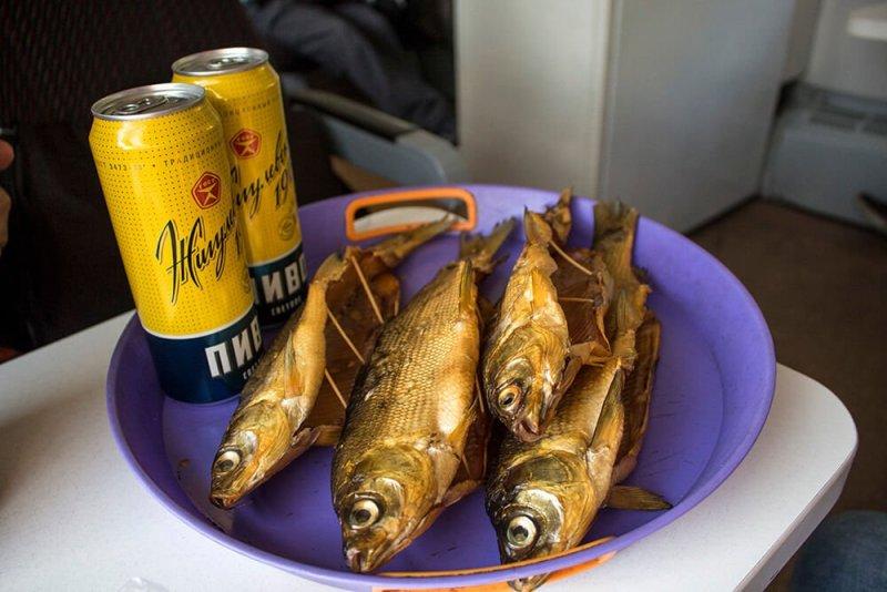 Buuz, sagudai and other local food around Baikal