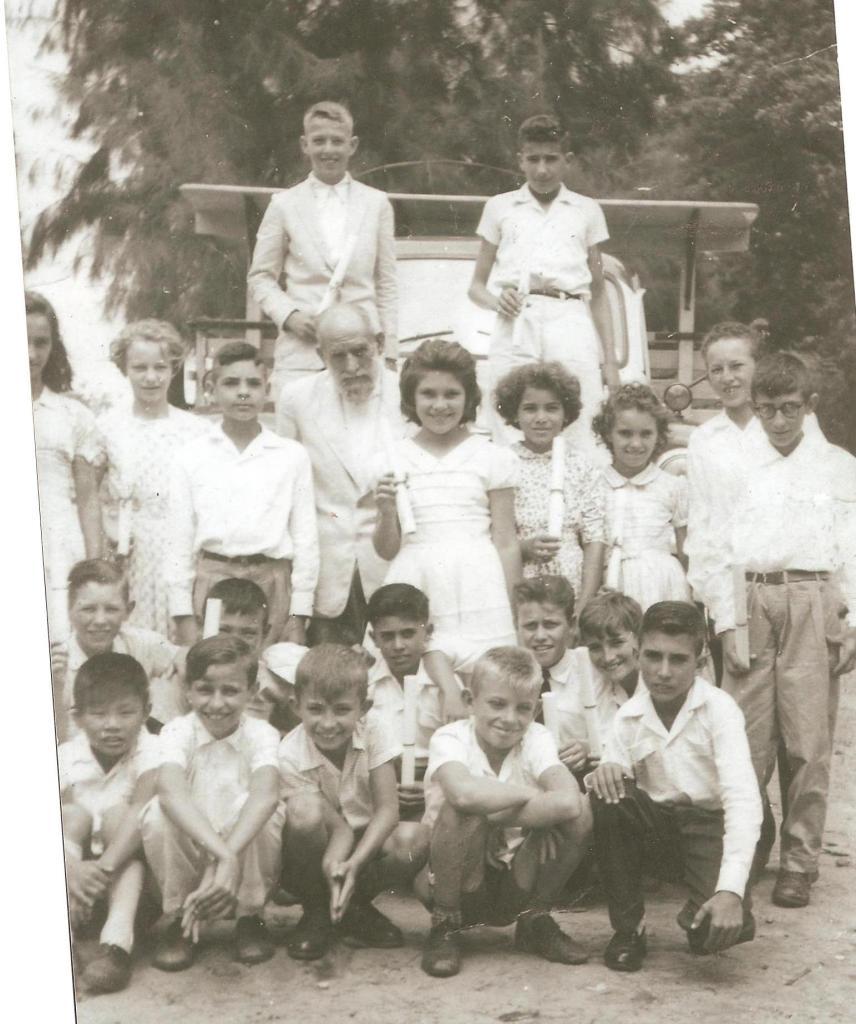 Formatura alunos 1962 - Escola Duas Barras