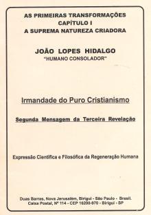 CAPA LIVRO - AS PRIMEIRAS TRANSFORMAÇÕES