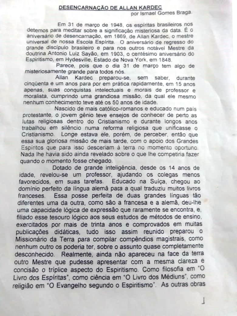 1 - TRANSCRIÇÃO DA REVISTA O REFORMADOR- MARÇO-1948 - ISMAEL GOMES BRAGA