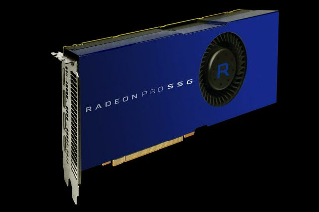 AMD's new $10,000 graphics card has its own built-in SSDs