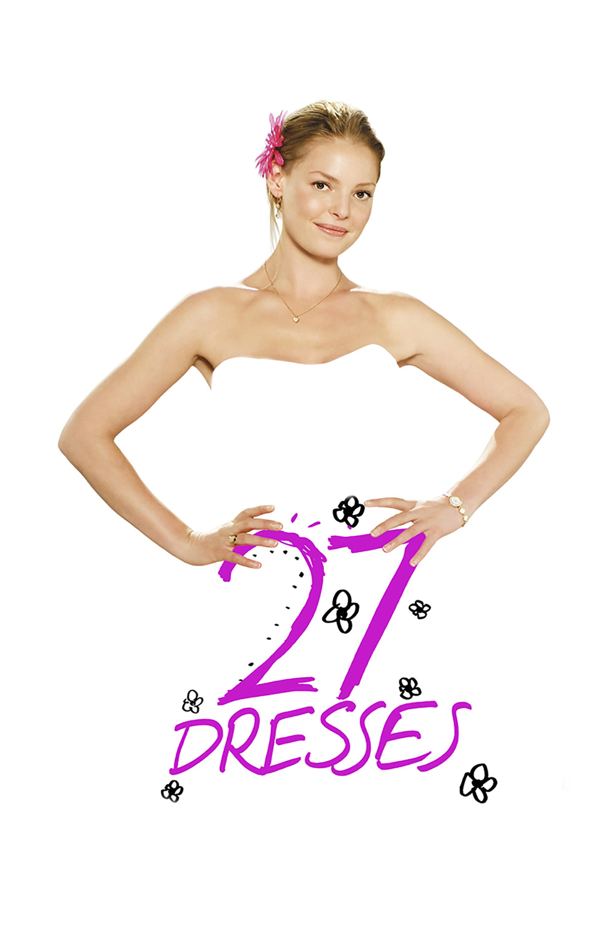 "Poster for the movie ""27 Dresses"""
