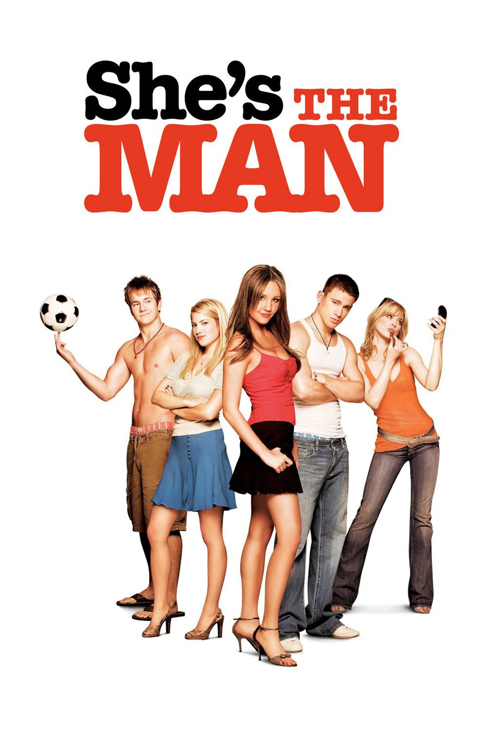 "Poster for the movie ""She's the Man"""