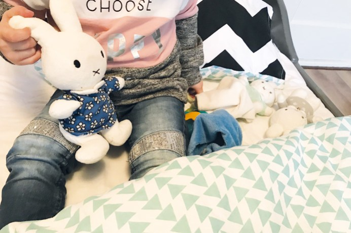 Knuffels bed